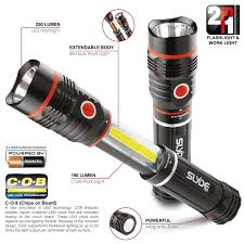 amazon com 6156 nebo slyde flashlight and work light sports
