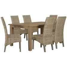 Lifestyle Garden Furniture City Furniture Jaden Light Tone Rectangular Table
