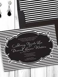 black and white striped wedding invitations templates blank invitation templates for microsoft word with
