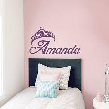 Girly Wall Stickers 034 Crown Princess 034 Girly Fun Car Wall Decal Vinyl Sticker