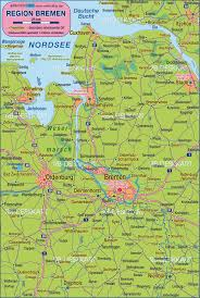 Bremen Germany Map by Map Of Bremen Environment Germany Lower Saxony Map In The