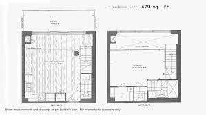 20 joe shuster way floor plans just sold 1 bedroom loft suite 80 western battery rd 221