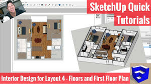 creating our first floor plan in layout sketchup apartment