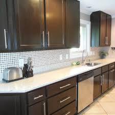 Small Kitchen Appliances Garage With Tiled Backsplash by Black Backsplash Kitchen 100 Images Kitchen Subway Tiles Are