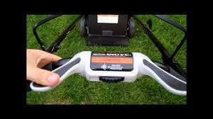 new honda smart drive mower youtube