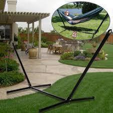 folding hammock stand portable