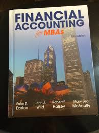 financial accounting for mbas 5th edition and student solutions