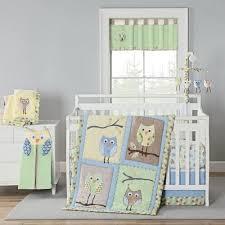 Owls Crib Bedding Harriet Bee Kraig Owls Crib Bedding Set Set Of 4 Walmart