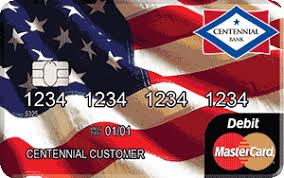 debit cards instant issue debit cards centennial bank