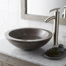 bathrooms design glass bowl sink ideas marble corner white