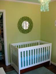 Bed Skirt For Crib Nursery Progress How To Make A No Sew Crib Skirt House