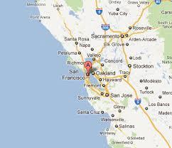 concord california map cost 2 drive san francisco california