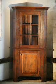 Wooden Cabinet With Glass Doors Quilt Cabinets With Glass Doors Goods Hutches