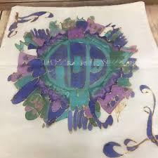 passover matzah cover passover matzah cover judaica seder blue green gold hebrew words