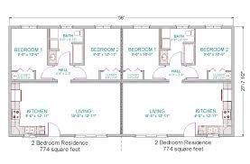 Two Bedroom Homes Two Bedroom Duplex Marceladick Com
