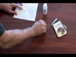 Hardwood Floor Repair Kit Exact Match Floor Repair Kit Youtube
