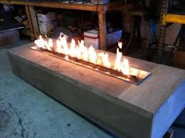 Firepit Insert Linear Pit Insert New The Wave Gas Pertaining To 10