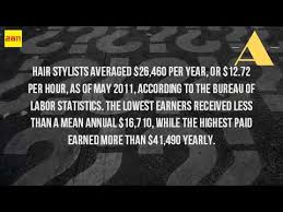 hair stylist salary 2015 how much does a hair stylist make per year youtube