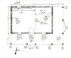 16 x 24 floor plan plans by davis frame weekend timber frame cabin plans 16 x plan 24 30 36 20 cottage building
