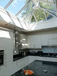 kitchen decorating glass roof balcony conservation rooflights