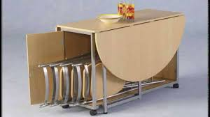 Chair Folding Kitchen Table Endearing Small Fresh Dining Room - Collapsible kitchen table