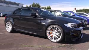 bmw 1m black bmw 1m coupe w eisenmann race exhaust