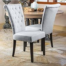 Light Dining Chairs Light Grey Dining Chairs Set Of 2 Chairs