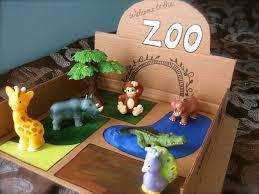 cardboard zoo diy cardboard zoos and dramatic play