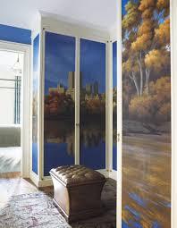 wonderful grey brown wood glass modern design bedroom closet ideas