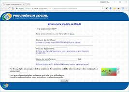 demonstrativo imposto de renda 2015 do banco do brasil extrato inss para imposto de renda 2018 saiba como emitir