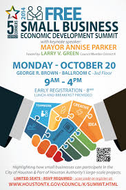 economic development free small business economic development summit oct 20