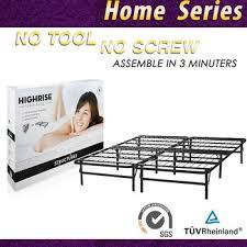 smart base steel bed frame foundation queen buy smart base steel