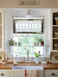 amazing kitchen window treatment ideas and curtains kitchen