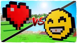 house emoji casa de corazón vs casa de emojis minecraft youtube