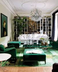 green decor color influences from the runway to the living room alldaychic