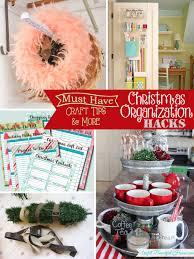 christmas organization hacks mine for the making