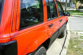 orange jeep grand cherokee grandcherokeelrd 1993 jeep grand cherokee specs photos