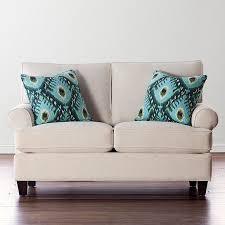 Patterned Loveseats Sofa And Love Seat Sets Living Room Furniture Bassett Furniture