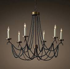 Chandelier Restoration Restoration Hardware Pillar Candle Rectangular Chandelier