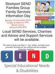stockport send services and information day valley