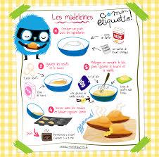 cuisine facile pour enfant recette de madeleines découvrir atelier et enfants