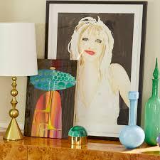 pop emerald decanter modern decor jonathan adler