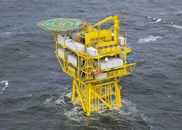 borkum west ii installed overdick u2014 offshore engineering naval
