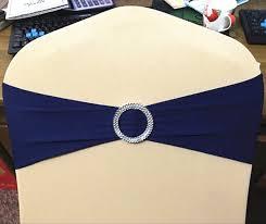 navy blue chair sashes aliexpress buy 100pcs navy blue wedding spandex chair sash