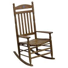 Maple Chairs Auburn Tigers Collegiate Rocking Chair Maple Finish Dcg Stores