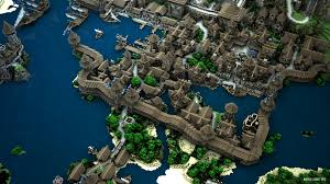 City Maps For Minecraft Pe City Of Kargeth U2014 Mathieu Legault