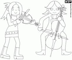 cello coloring page rock band coloring pages printable games