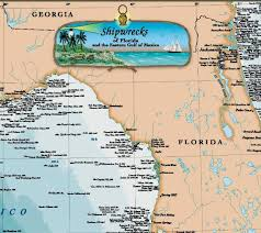 florida shipwrecks map florida shipwrecks images search