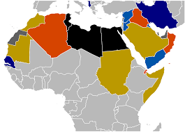 arab countries map file 2010 2011 arab world protests svg wikimedia commons