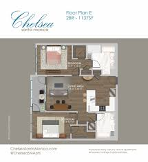 luxury studio 1 u0026 2 bedroom apartments at chelsea santa monica